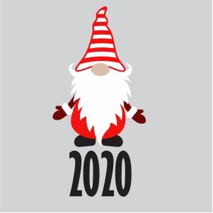 Christmas Gnome 2020 Svg
