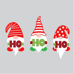 Download Ho Ho Ho Christmas Gnome SVG | Three Gnome Svg | Svg Dxf ...