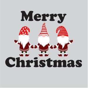 Three Gnomes Christmas Svg