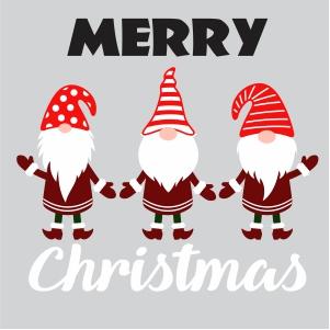 Gnome Merry Christmas Svg