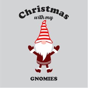 Christmas With My Gnomies Svg