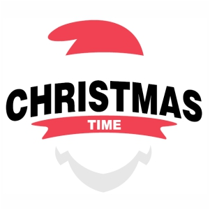 Christmas Time svg cut file