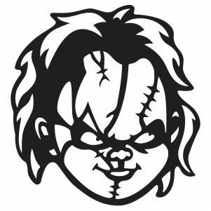 Chucky Face Vector