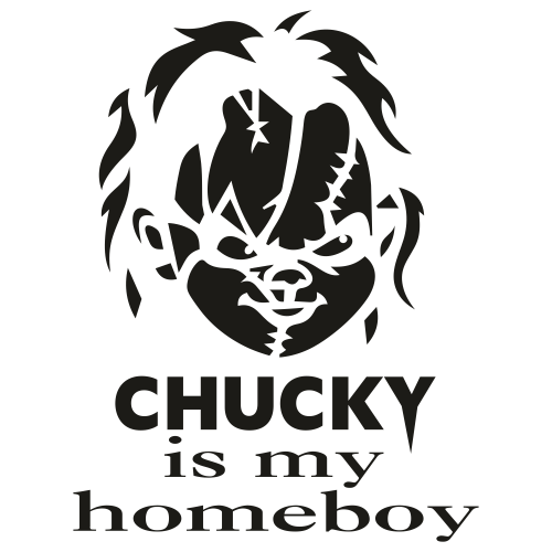 Chucky is my Homeboy Svg