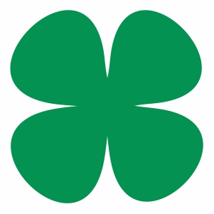 Clover symbol svg cut