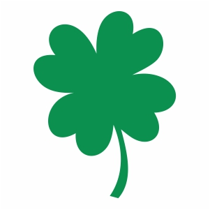 young clover svg cut