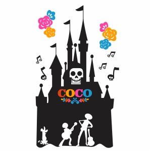 Coco Disneyland Vector