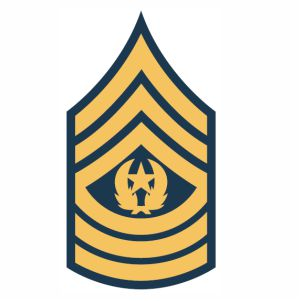 Army command sergeant major rank svg