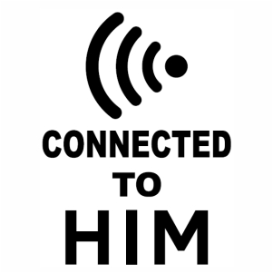 Connected To Him vector file