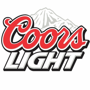Coors Light Mountain Logo Vector