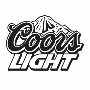 Coors Light Logo Alcohol Svg