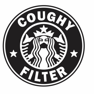 Starbucks Coughy Filter Vector