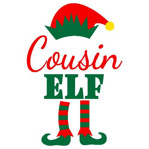 Cousin Elf Svg