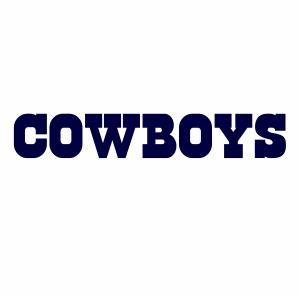 Dallas Cowboys Wordmark Logo