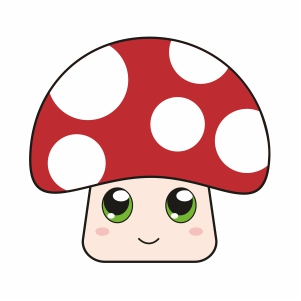 Toad Face Svg