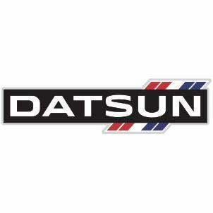 Vector Datsun Car Logo