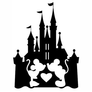 Disney Castle Christmas Svg.Beautiful Hello Kitty Svg
