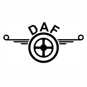 Daf Truck logo Vector design