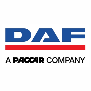 Daf a paccar company logo Vector design
