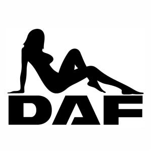 Daf girl logo vector