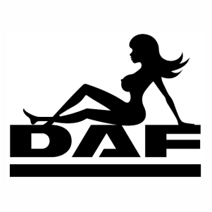 Daf girl logo svg