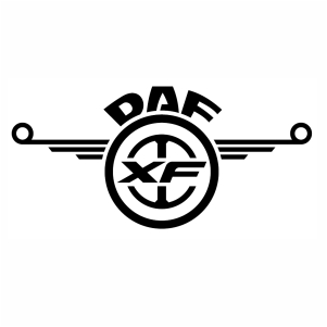 Daf xf logo Vector download