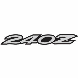 Datsun 240Z Logo Vector