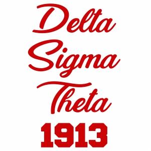 Delta Sigma Theta 1913 Silhouette