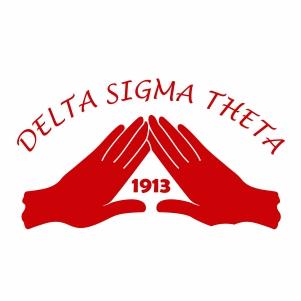 Delta Sigma Theta Hand Svg