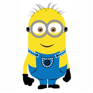 Despicable Me Minions Jerry vector