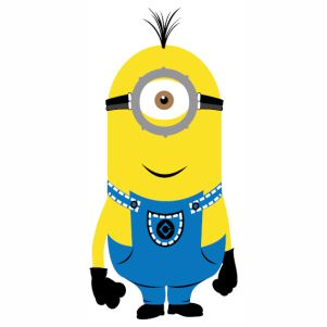Kevin Minions Despicable Me svg