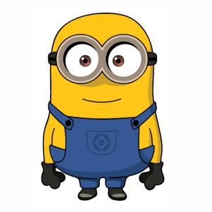 Bob The Minion vector