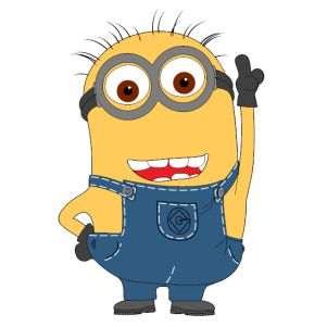 Minions Jerry svg cut