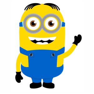 Dave Minion Despicable Me svg file