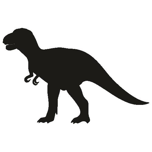 Danger Dinosaur Svg