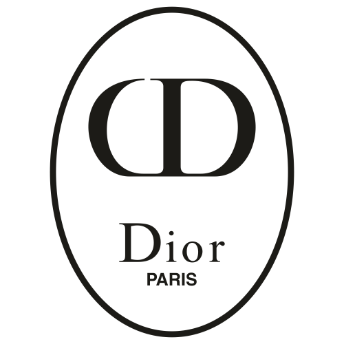 Dior Paris circle Svg