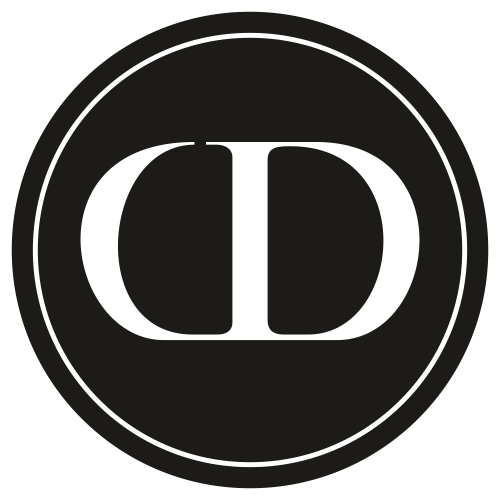Dior Symbol circle Svg