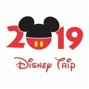 Disney Trip Logo Svg