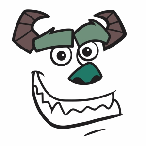 Sully Face svg
