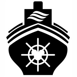Disney Cruise Ship Vector