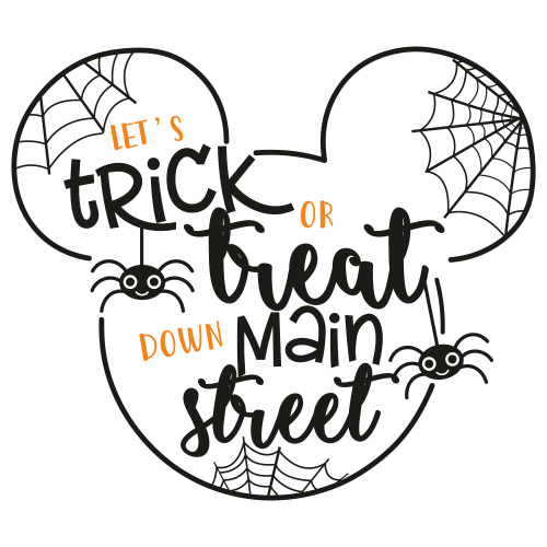 Disney Halloween Svg