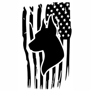 Distressed American Flag Doberman Svg File Flag Svg Cut File Download Jpg Png Svg Cdr Ai Pdf Eps Dxf Format