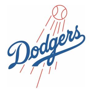 Los Angeles Dodgers Logo Svg