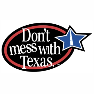 Dont Mess With Texas Star logo svg cut file