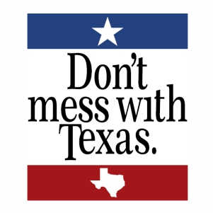 Dont mess with texas  logo svg