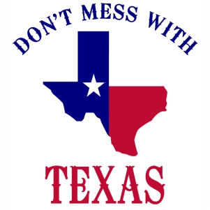 Dont Mess With Texas logo svg cut file