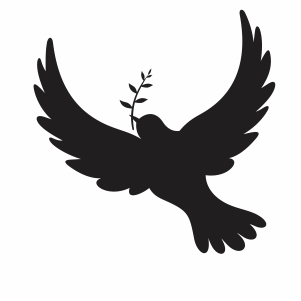 Peace Dove Bird svg