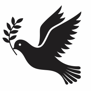 Peace Bird Svg