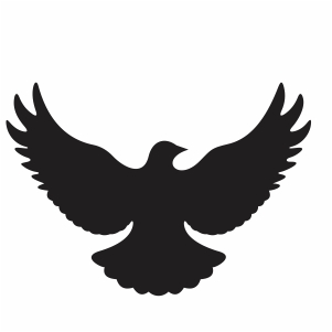 Dove fly svg