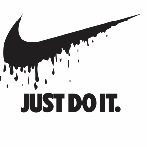 Nike Just Do It Dripping Logo Svg Dripping Nike Logo Svg Cut File Download Jpg Png Svg Cdr Ai Pdf Eps Dxf Format